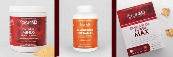 Brain Warrior Supplies - Memory Powder, Magnesium, Brain And Body Power Max