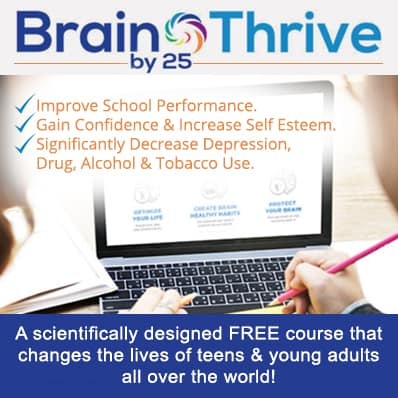 Brain Thrive By 25 - Tana Amen BSN RN