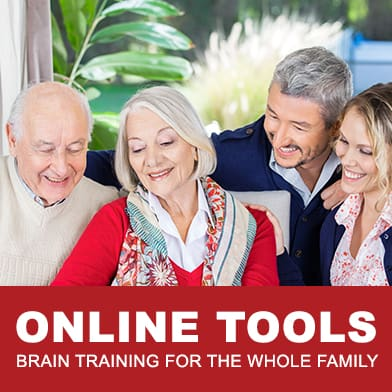 Online Tools from Amen University - Brain Training For The Whole Family by Tana Amen BSN RN and Dr Daniel Amen