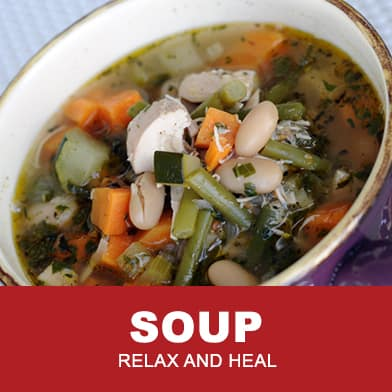 Soup Recipes For All Brain Warriors by Tana Amen BSN RN