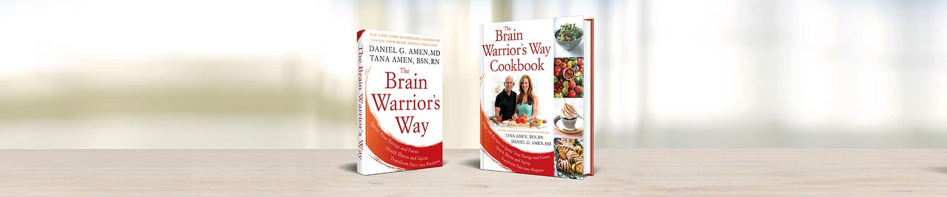 The Brain Warrior's Way Book and Cookbook